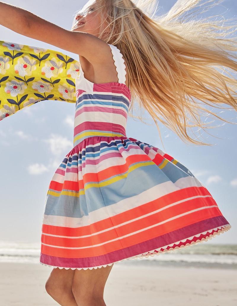 vestidos de playa para niña