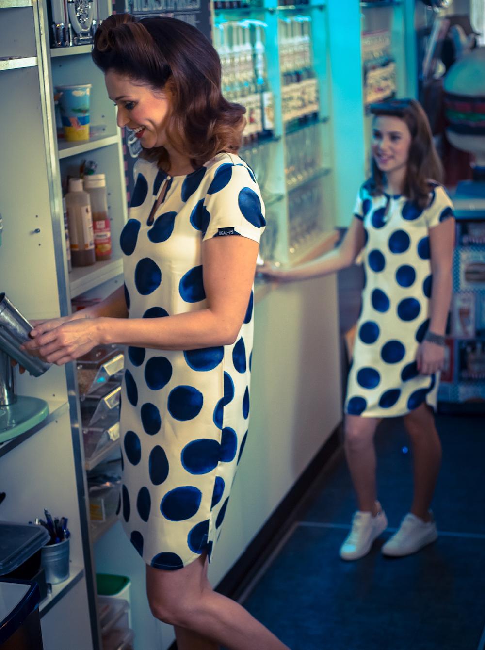 Ropa para madre e hija, vestidos de Deal-75 para verano
