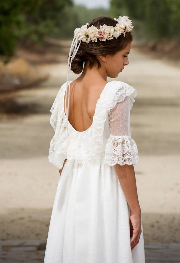 Vestidos para ceremonia de comunion