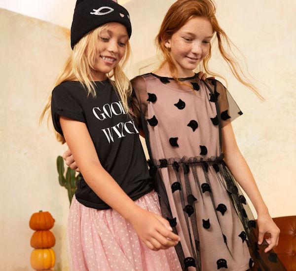 H&M halloween niños moda infantil para halloween