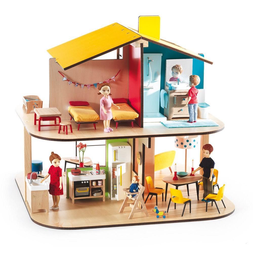 12 casas de mu ecas de madera las mejores marcas - Casa de munecas you and me ...