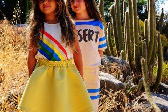 Bandy Button moda infantil SS 18 colores alegres, moda divertida