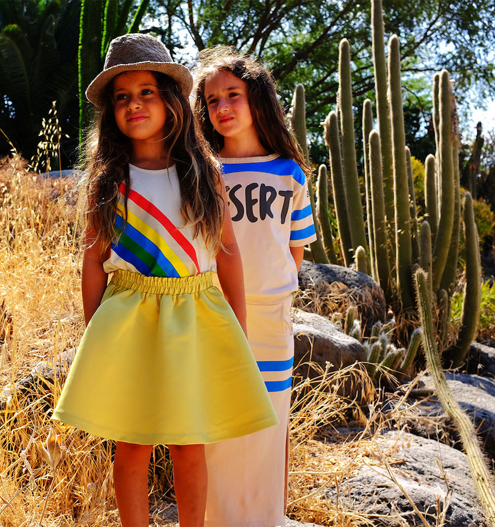 Bandy Button moda infantil SS 18 colores alegres, moda divertida