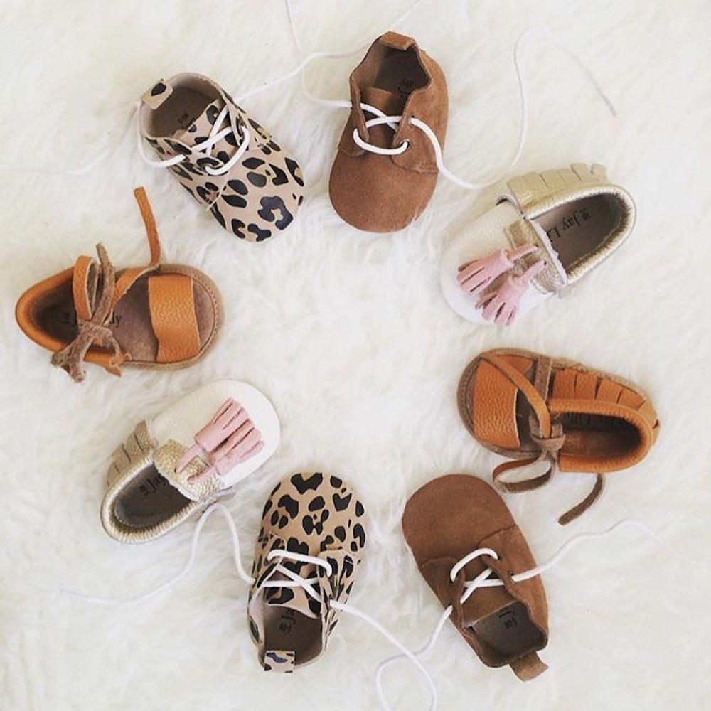 Jaylilly baby shoes, zapatos artesanales para bebé realizados en piel