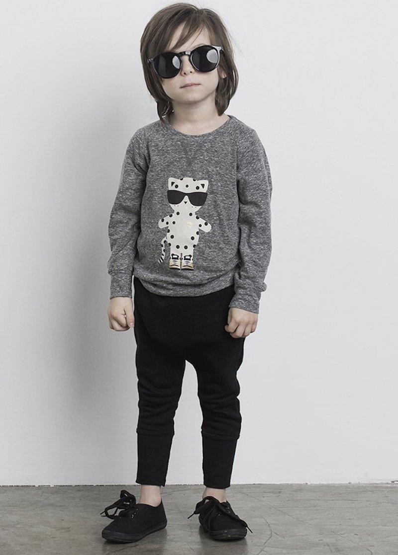 Huxbaby moda para niños pequeños, estilo minimalista