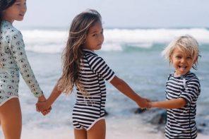 Beach & Bandits bañadores para niños con proteccion solar