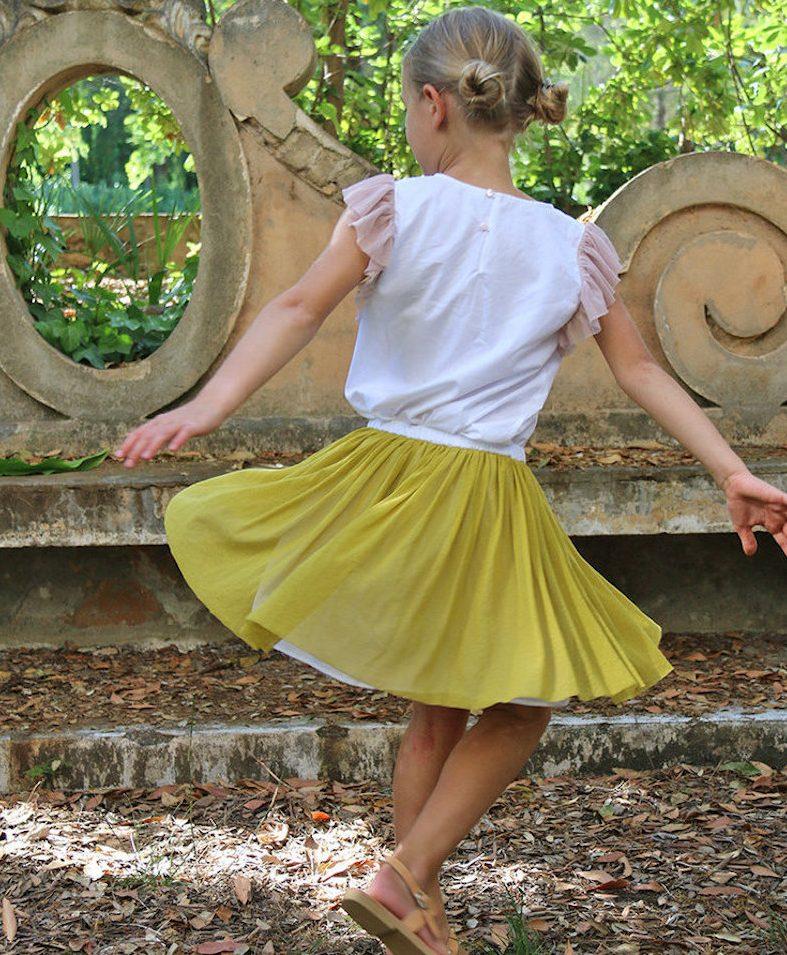 moda infantil SS18 con espíritu ecológico