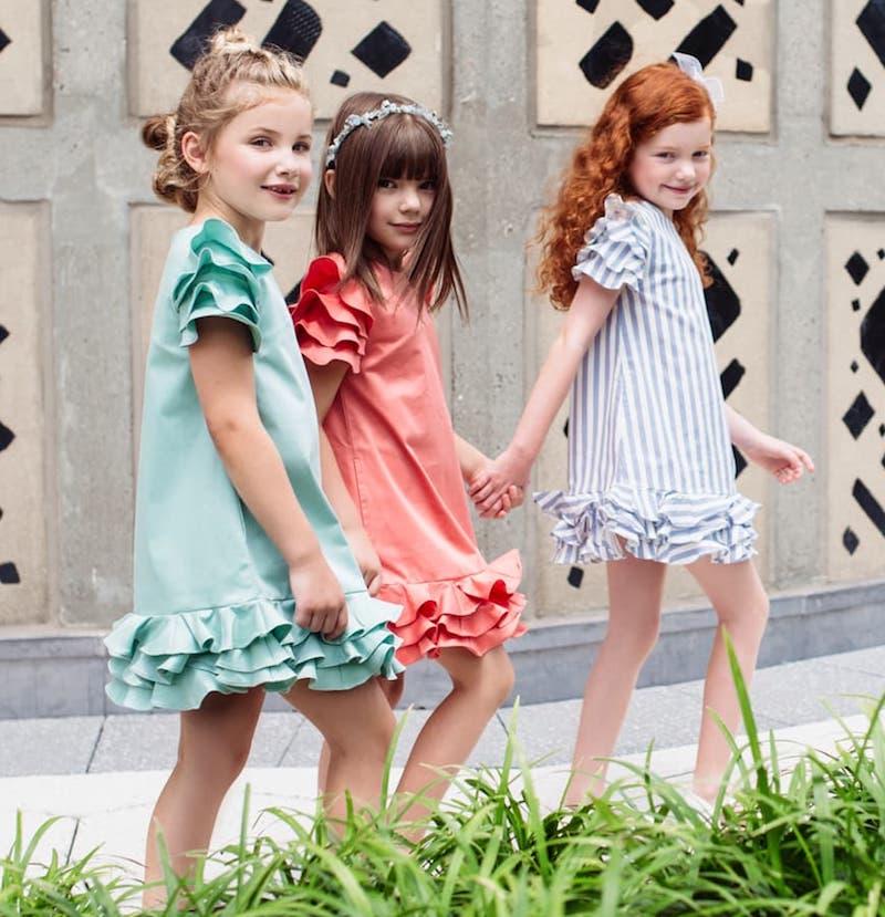 ed19f809f8ad Moque.us moda colorida y original para niñas verano 2018 - Minimoda ...