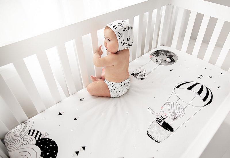 Rookiehumans sabanas para cuna de bebe