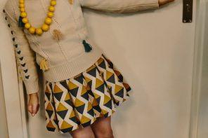 Moodblue ropa para niñas, colección de moda inspirada en los 70