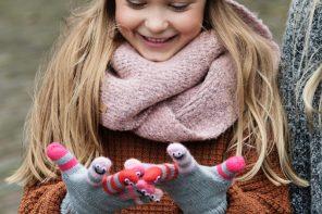 Accesorios infantiles con diseño especial, complementos de invierno para niños