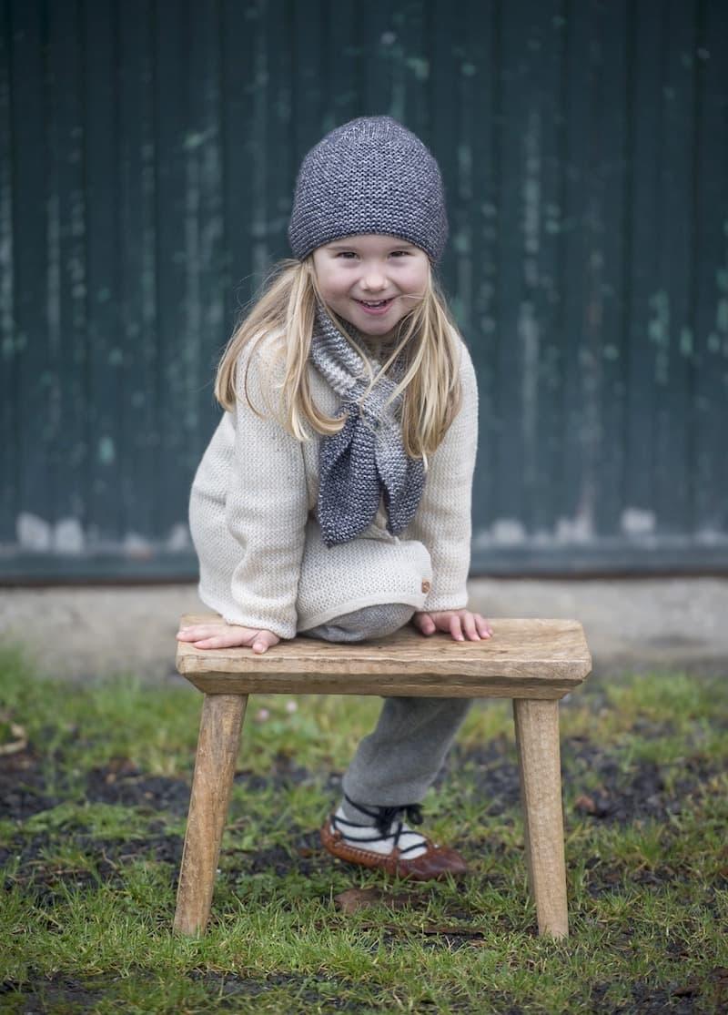 Aiö kids, ropa artesanal realizada con fibras naturales de calidad