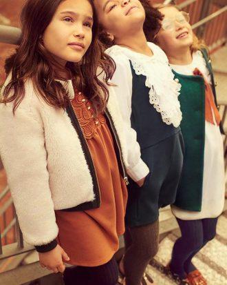 5df3c84b79175 Chloé girls una nueva colección de invierno para las niñas